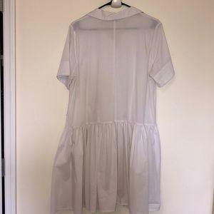 Eloquii Dresses - White Eloquii shirt dress
